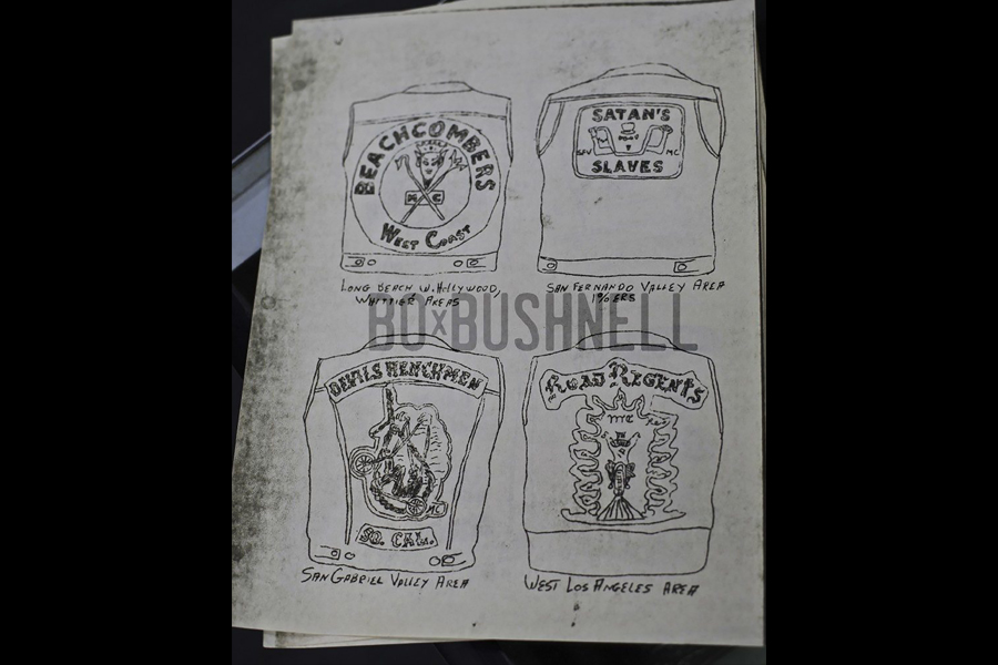 Late 1960s San Bernardino Sheriff's training manual on 1% Motorcycle Clubs