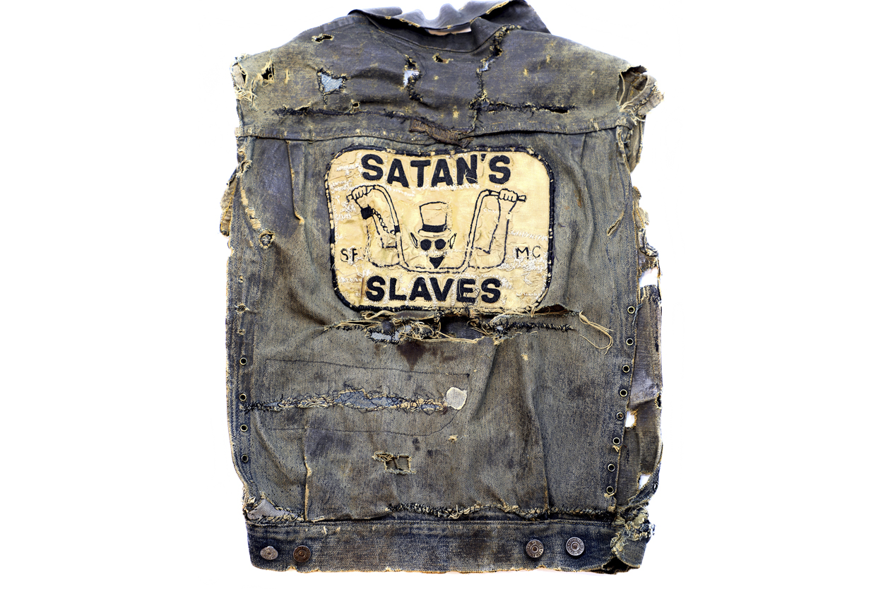 The only Satans Slaves Colors to make it out of the club