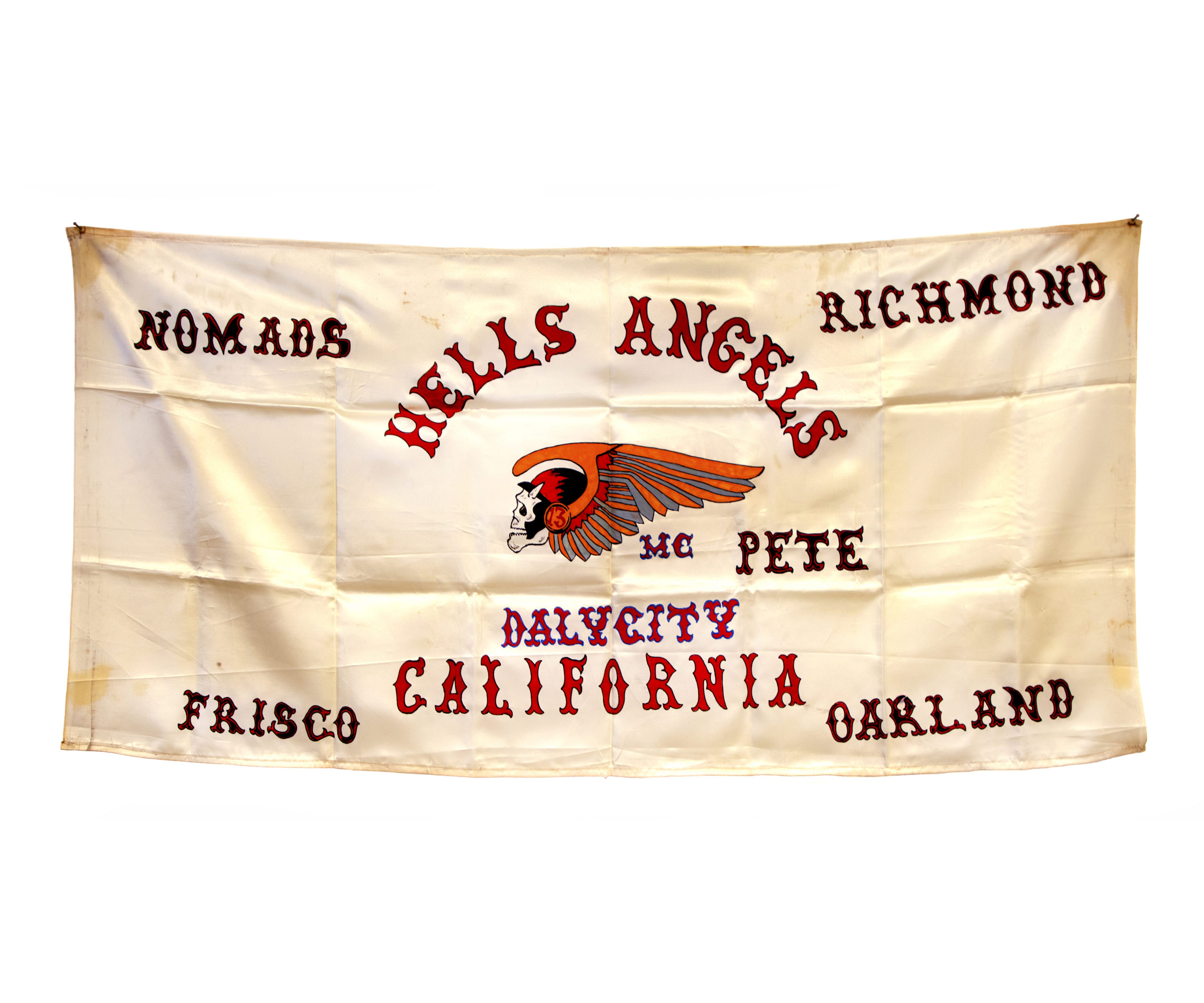 The Daly City Flag From Hells Angels 69′